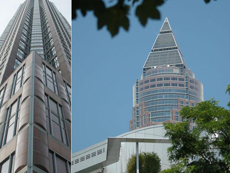 Referenz Messeturm Frankfurt